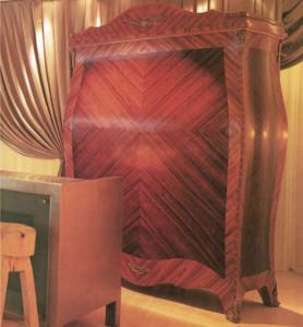 mobile reception in mogano hotel sanderson londra philippe starck
